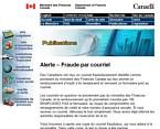 Alerte – Fraude par courriel
