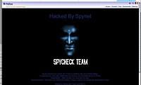 Le site Internet de la police belge hacké