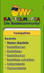 Basteln, ein Thema von vielen das unsere Mitglieder interessiert: