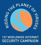 Première campagne mondiale pour éradiquer les virus informatiques