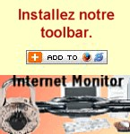 Toolbar gratuite de Internet Monitor