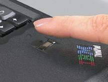 Neues Notebook mit Fingerabdruck-Sensor