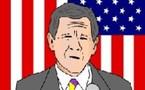 George W. Bush parle ce que vous lui ordonnez de dire